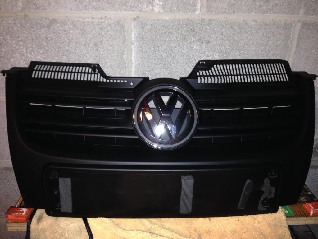 Plastidip or rattle can for front grill - Mk5 General Area