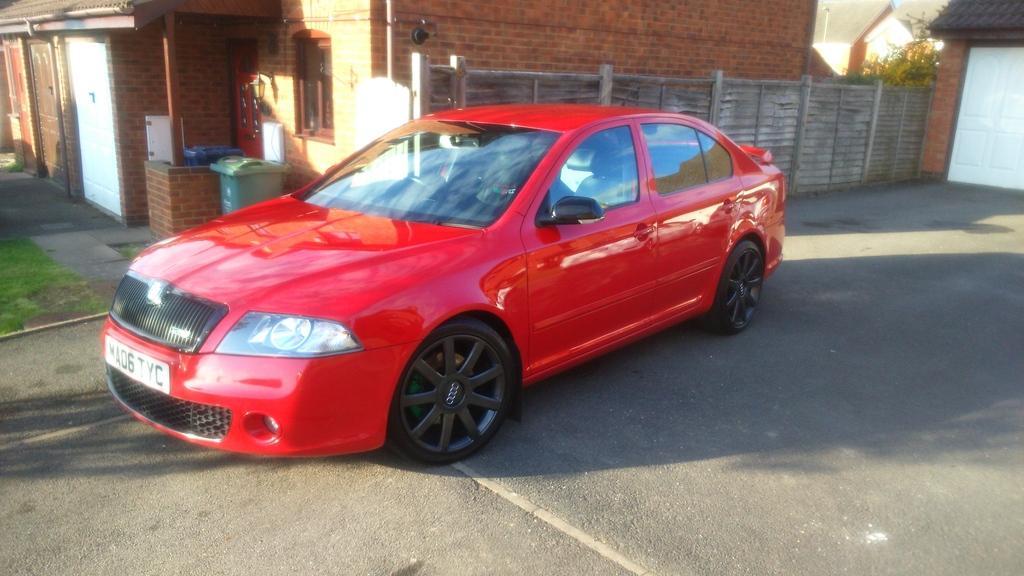 For Sale 2006 Mk2 Octavia Vrs Tfsi Hatchback Red Stage 2 New Price 4350 Cars For Sale Mk5 Golf Gti