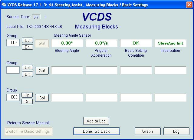 Long coding for ch steering module  - page 2 - Mk5 General Area
