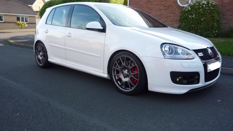 Candy White Ed30 Wheel Colour Pics Cosmetic Interior Modifications Mk5 Golf Gti