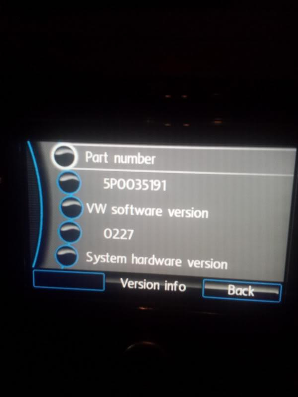 Guide to updating RNS310 Firmware - Sat Nav and Car Audio