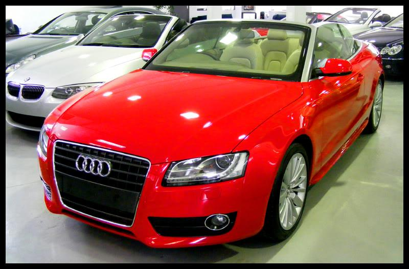 audi a5 convertible so much red detailing mk5 golf gti. Black Bedroom Furniture Sets. Home Design Ideas