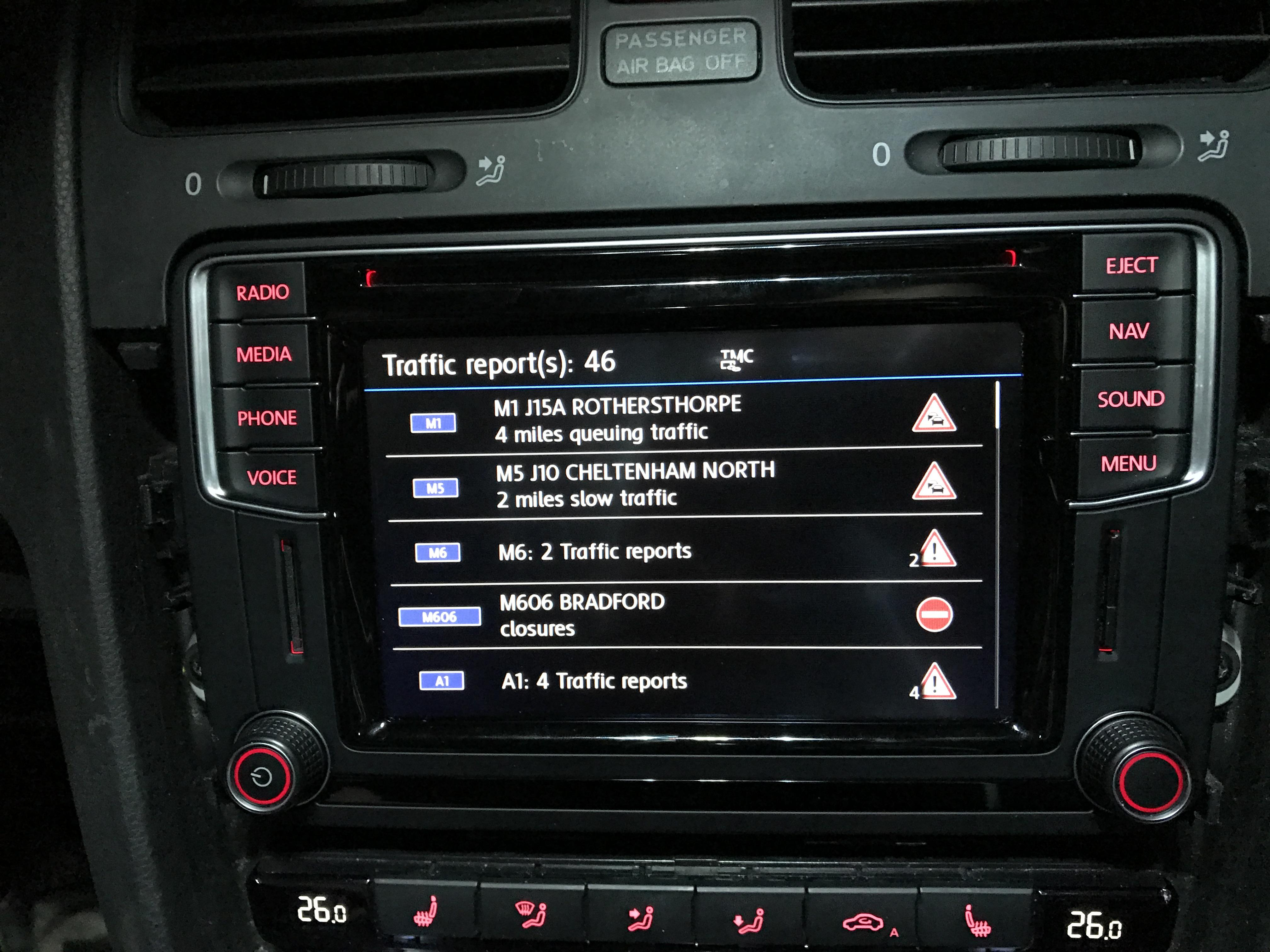 Retrofit of Discover Media/ Composition Media head units to