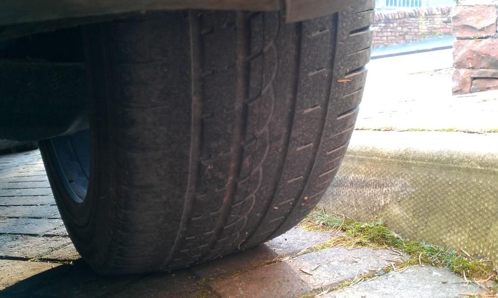 Rear tyre wear - Is this normal??????? - Mk5 General Area