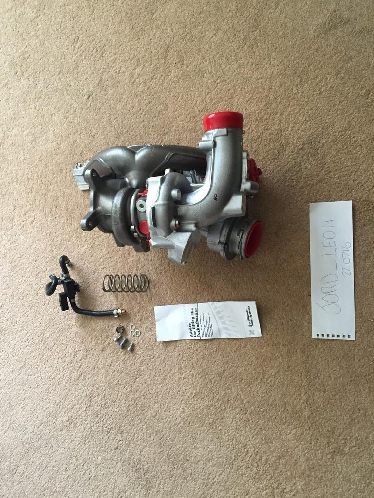TTE420 K04 Hybrid Turbo (Brand new) - page 1 - Car Parts