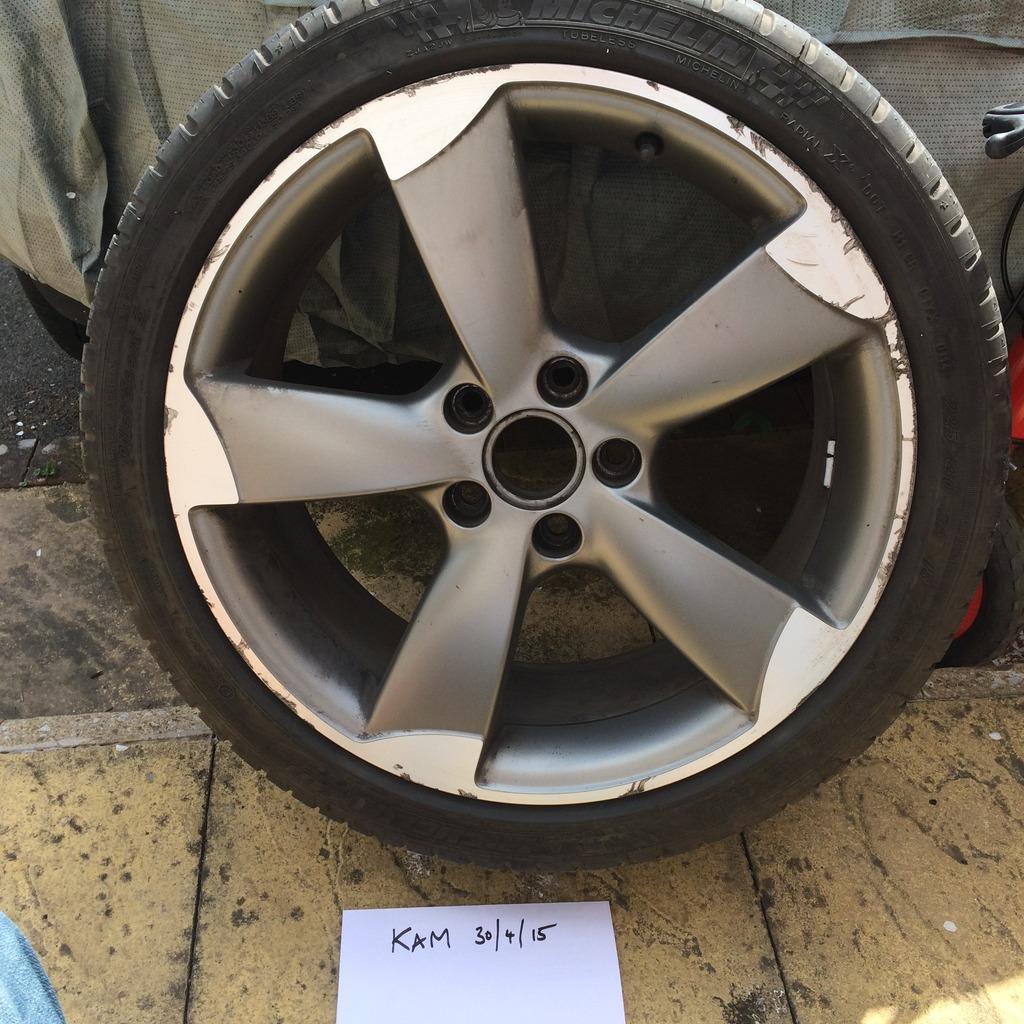 Genuine Audi A3 Rotor Blade Alloys 18 Sold Car Parts Mk5 Golf Gti