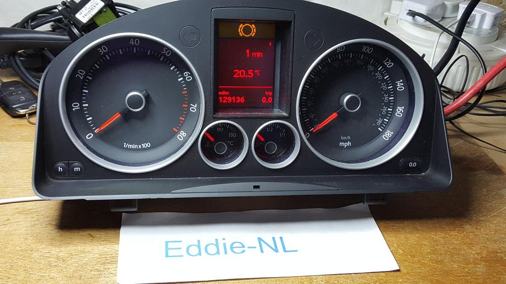 GTi Highline Cluster 1K6 920 974 UK Spec - Car Parts - MK5