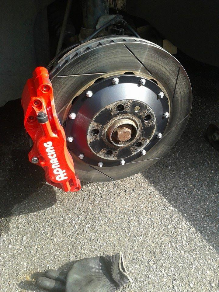 AP racing 4-pot kit - sold - Car Parts - MK5 Golf GTI