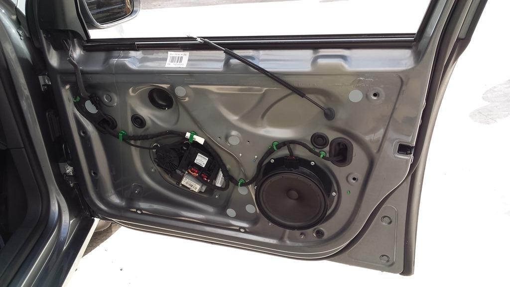 Upgrading Front Speakers Mb Quartz Made For Golf Mk5 Sat Nav And