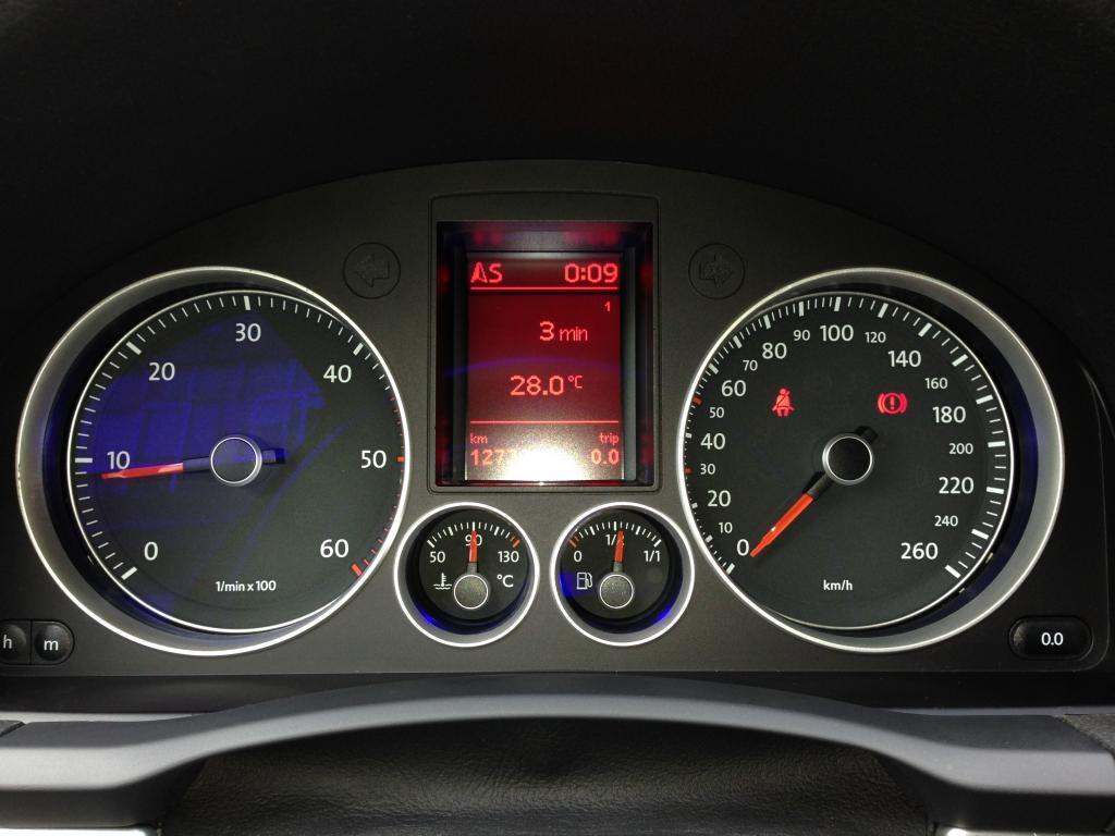 GTI highline clock / speedo / instrument cluster - Wanted - MK5 Golf GTI