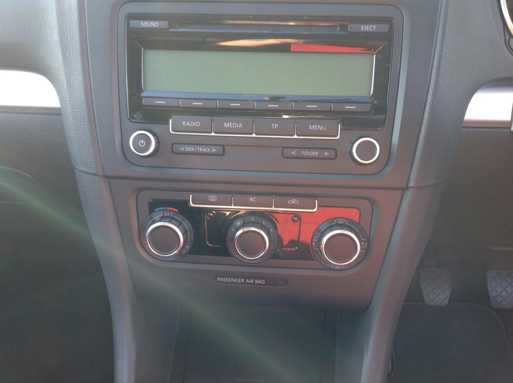Mk6 climate control panel in a mk5 - Cosmetic/Interior