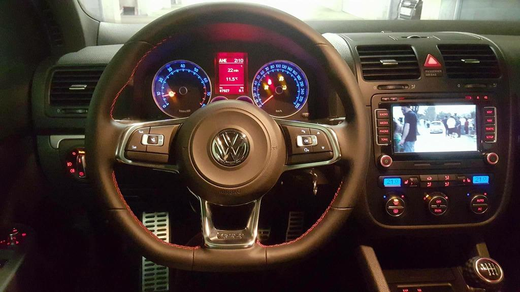 Gti Mk7 R >> Mk7 steering wheel into mk5 gti - page 7 - Cosmetic/Interior Modifications - MK5 Golf GTI