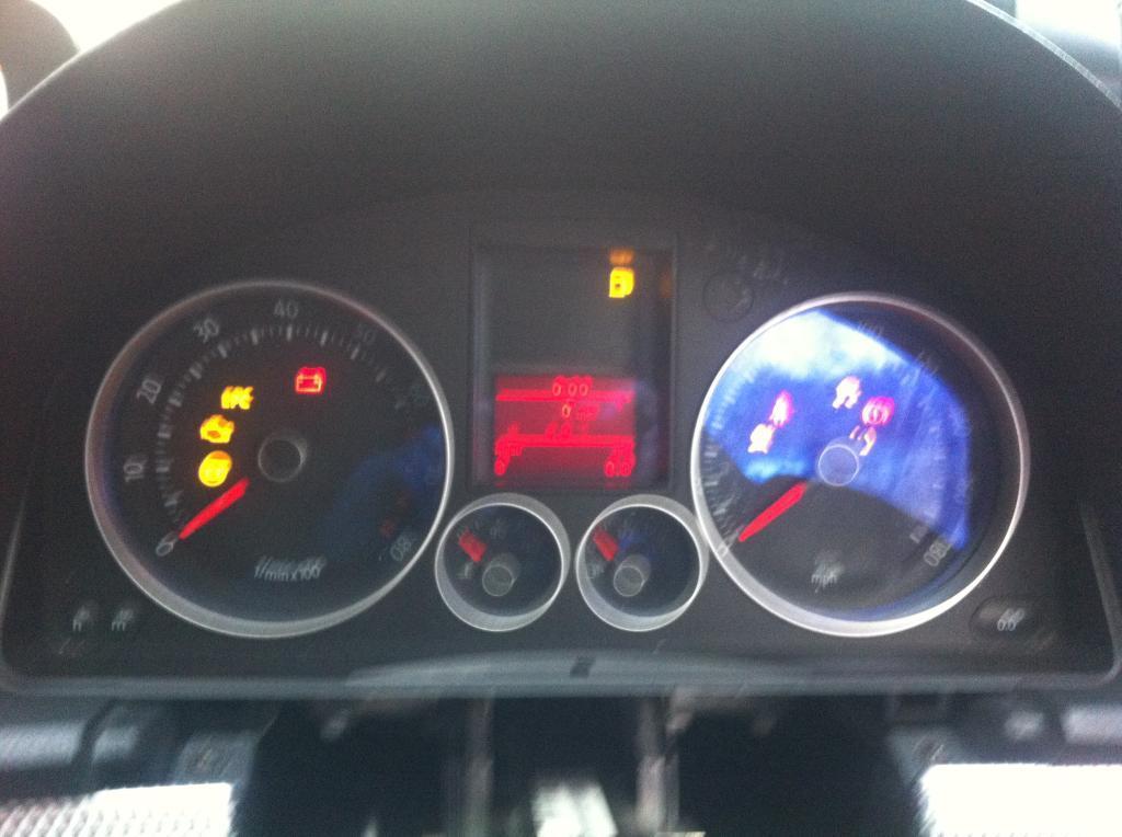 MK5 Golf GTI MIDLINE INSTRUMENT CLUSTER CLOCKS Part Number