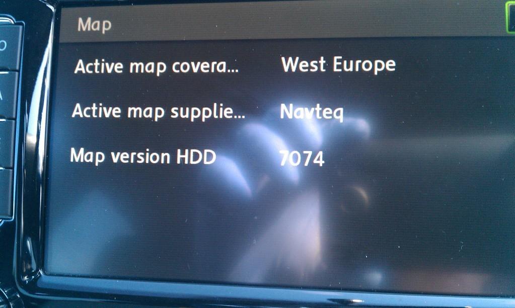 Skoda Columbus RSN510 - Sat Nav and Car Audio - MK5