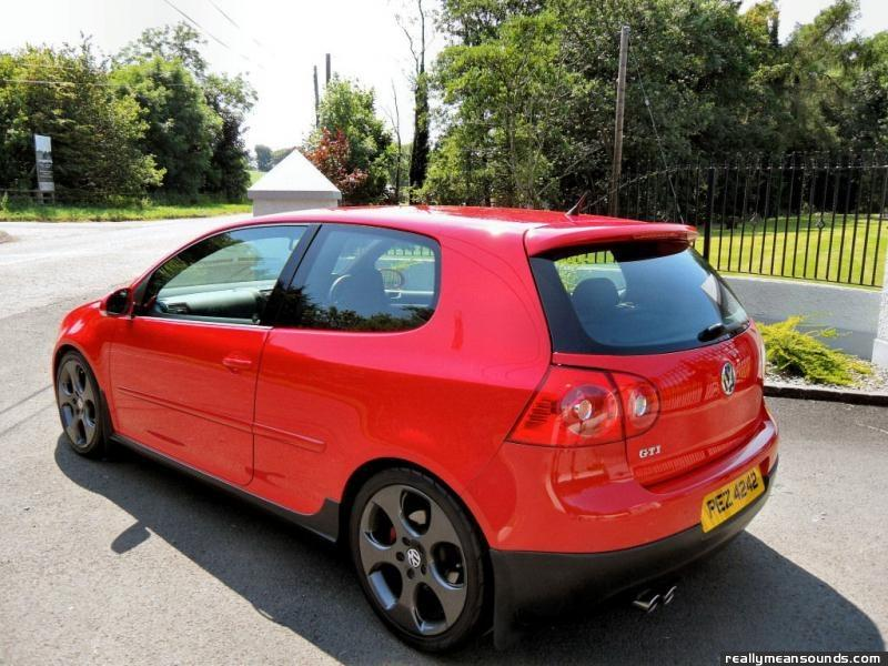 Mk5 Golf Gti Red Recaro Tartan Buckets Page 1