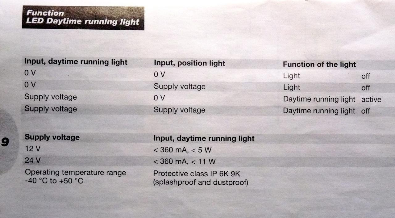 Hella Daytime Running Light Leds Page 1 Product Reviews Lights With Up Down Counter Also The Drls Are Not A Projected Beam Like Fog And Passive Signal Which Doesnt Glare