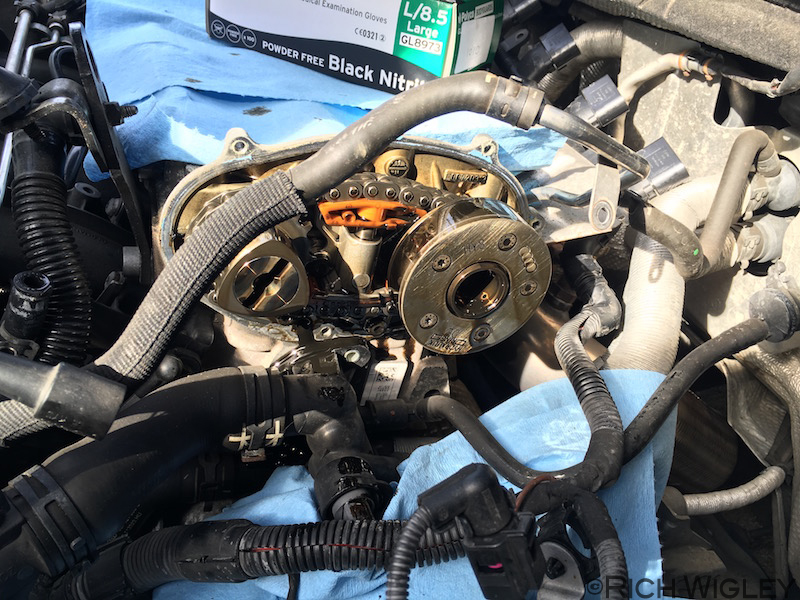 DIY - Cam Chain and Tensioner Guide - page 1 - How to ...
